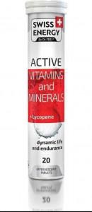 Таблетки шипучие Aktiv 20шт Swiss energy
