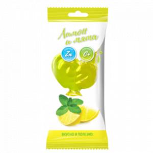 Карамель Петушок леденцовая лимон мята Цинк+витС 17г Актифрут